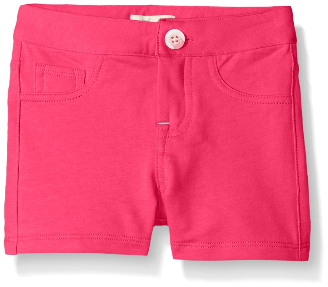 Scout + Ro Little Girls' Five-Pocket Knit Short, Lollipop, 6