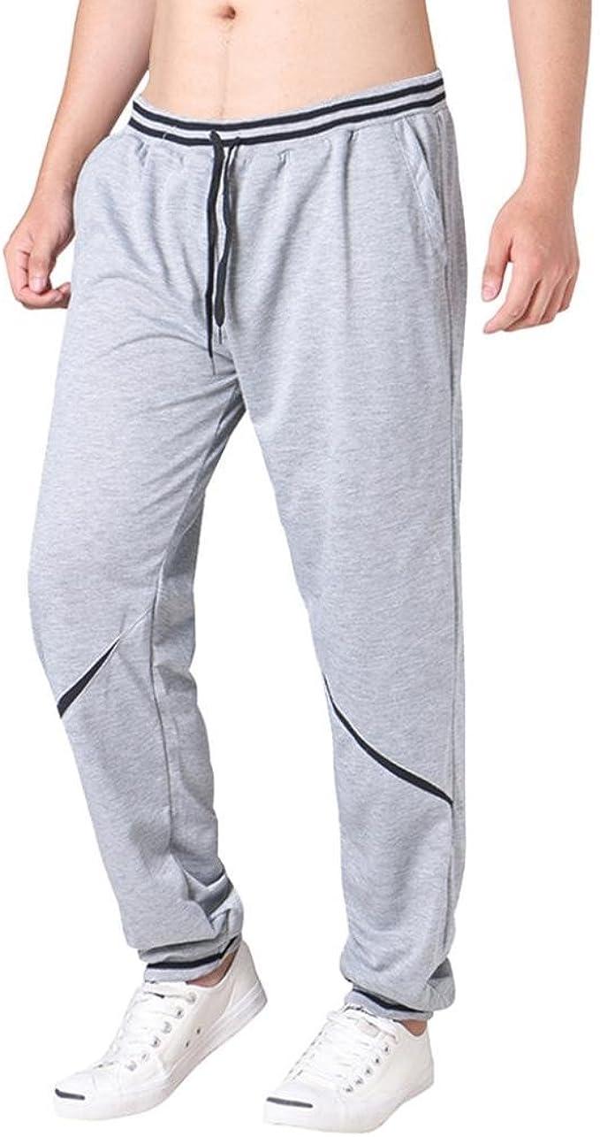 Hombre Pantalones Largos Chándal Jogger Pantalones Deportivos ...