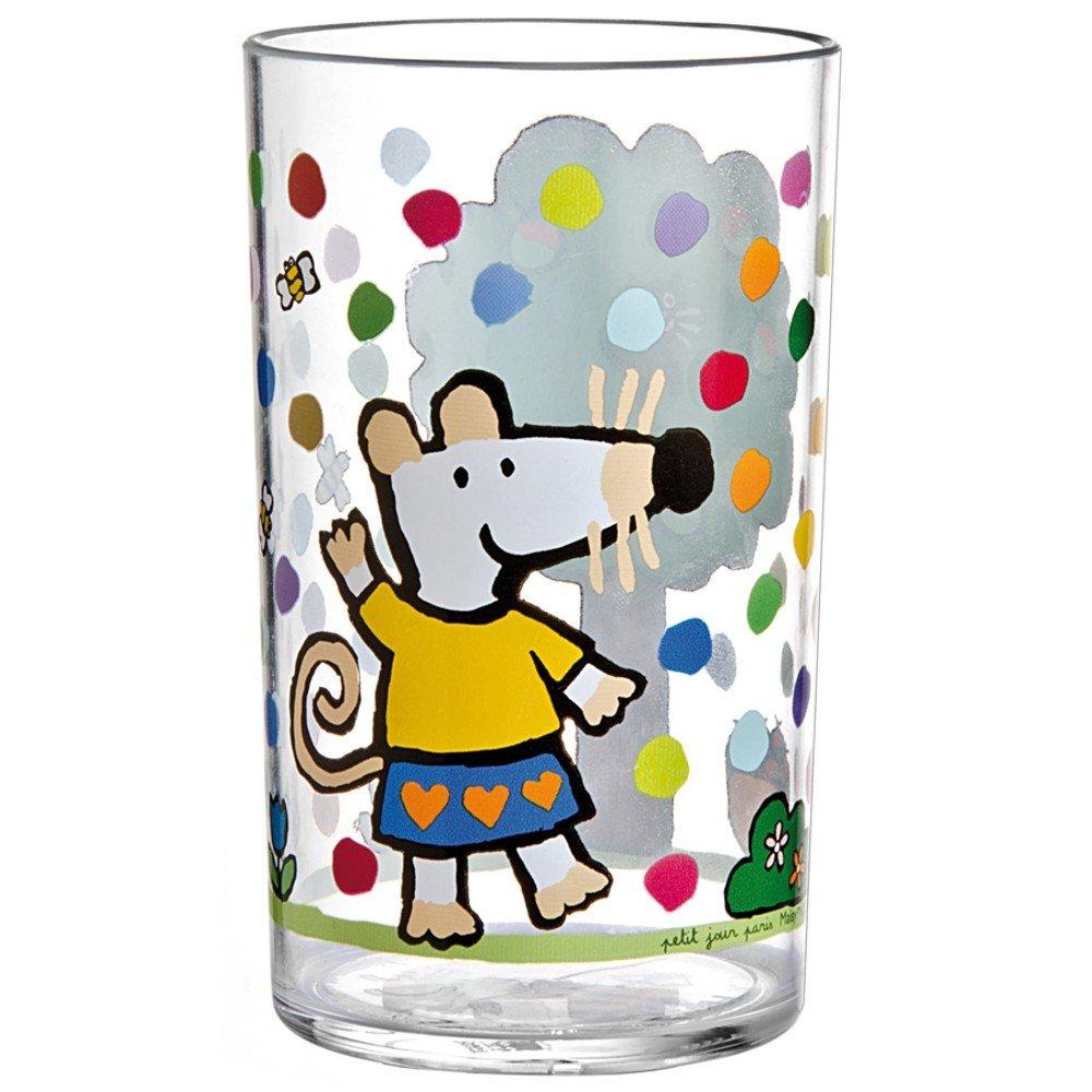 Petit Jour MM906E Trinkglas aus Acryl Mausi