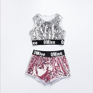 6957aeb318ae8 VoleseniTM - Abrigo de lentejuelas para niñas con diseño moderno de jazz