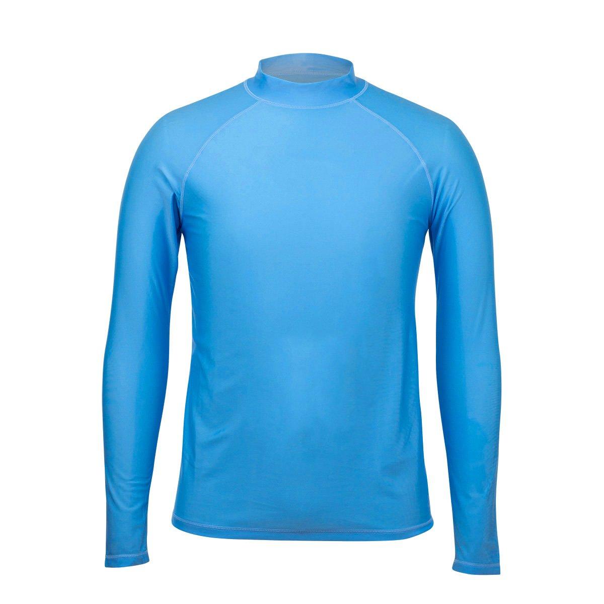 UV Skinz Men/'s Long Sleeve Sun /& Swim Shirt with UPF 50 Salt Water Resistant