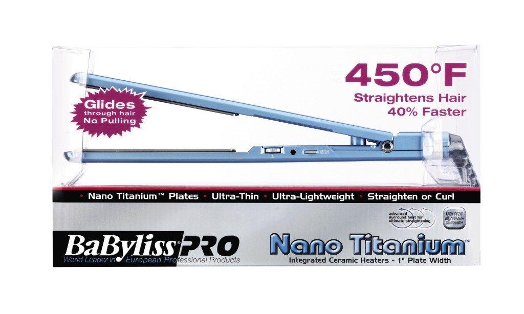 BaByliss Pro BABNT3072 Nano Titanium-Plated Ultra-Thin Straightening Iron, 1 Inch by BaBylissPRO (Image #6)