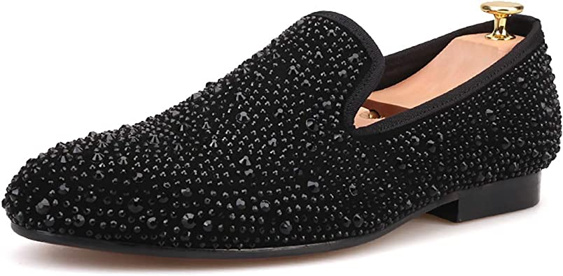 Loafer Round Toes Smoking Slipper