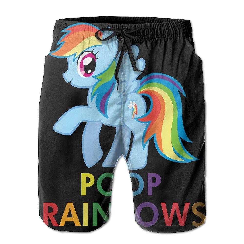 Donut Illustration Men's Beach Pants Swim Trunks Quick Dry Board Shorts Lining