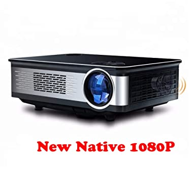 Topfoison Native 1080p Full HD Home Theater Video LED Projector- Big Screen,Up to 150 Inch Size,Compatible with TV-Box,Fire TV ROKU Sticks,SD, PS4,Laptop,DVD for Home ,Film,Movie