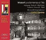 Mozart: La clemenza di Tito [Werner Hollweg; Carol Neblett; Catherine Malfitano; Wiener Philharmoniker; James Levine] [Orfeo: C938172I]