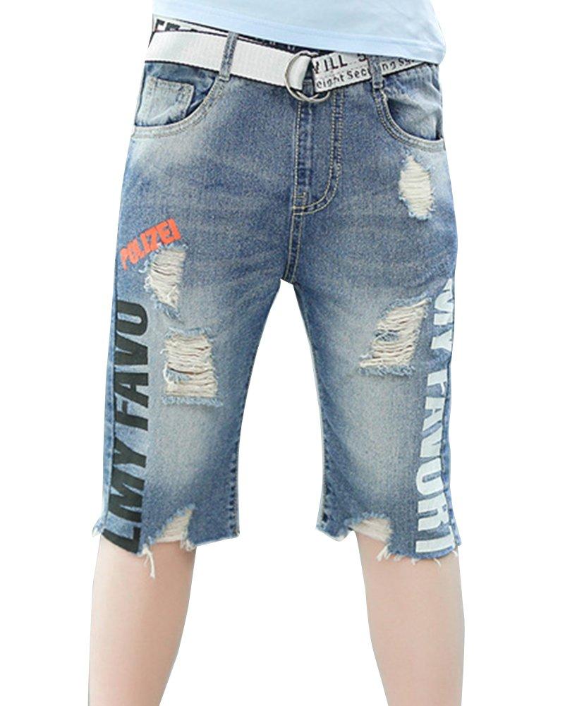 GladiolusA Jeans Boyfriend Bermuda Ragazzo Bambino Pantaloncini Di Jeans Pantaloni Corti