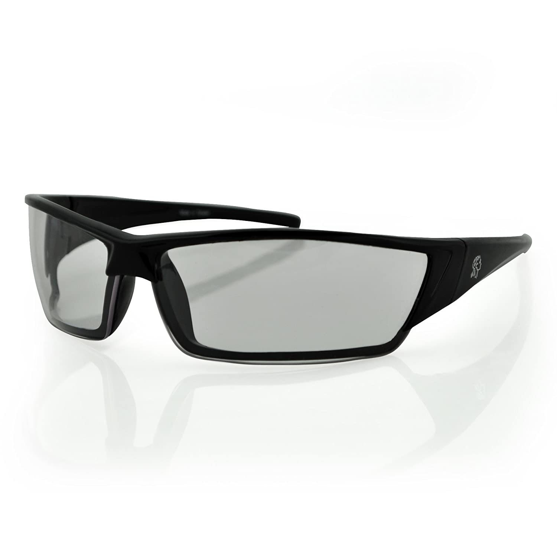 ZANheadgear EZFL01 Florida Sunglass with Shiny Black Frame and Smoked Lenses