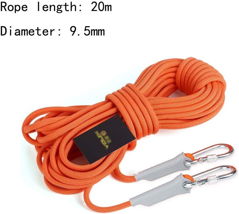 Cuerda que sube arnés 9.5mm naranja seguridad diámetro, la ...