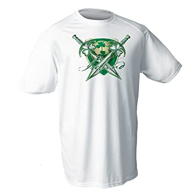 b718002fc DA Sports Gear Ireland National Soccer Short Sleeve Shirt - Irish St  Patrick s Day Shirt