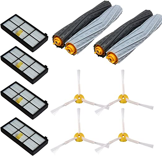 Extractor Brush filter 3 arm side brush for iRobot Roomba 800 900 880 870 980