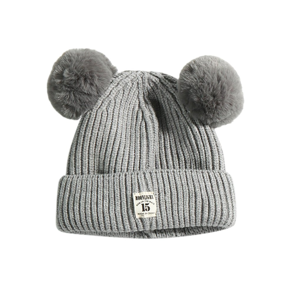 ShiningLove Baby Children Creative Cute Ear Design Knitted Hat Winter Warm Breathable Cap Birthday Christmas Gift