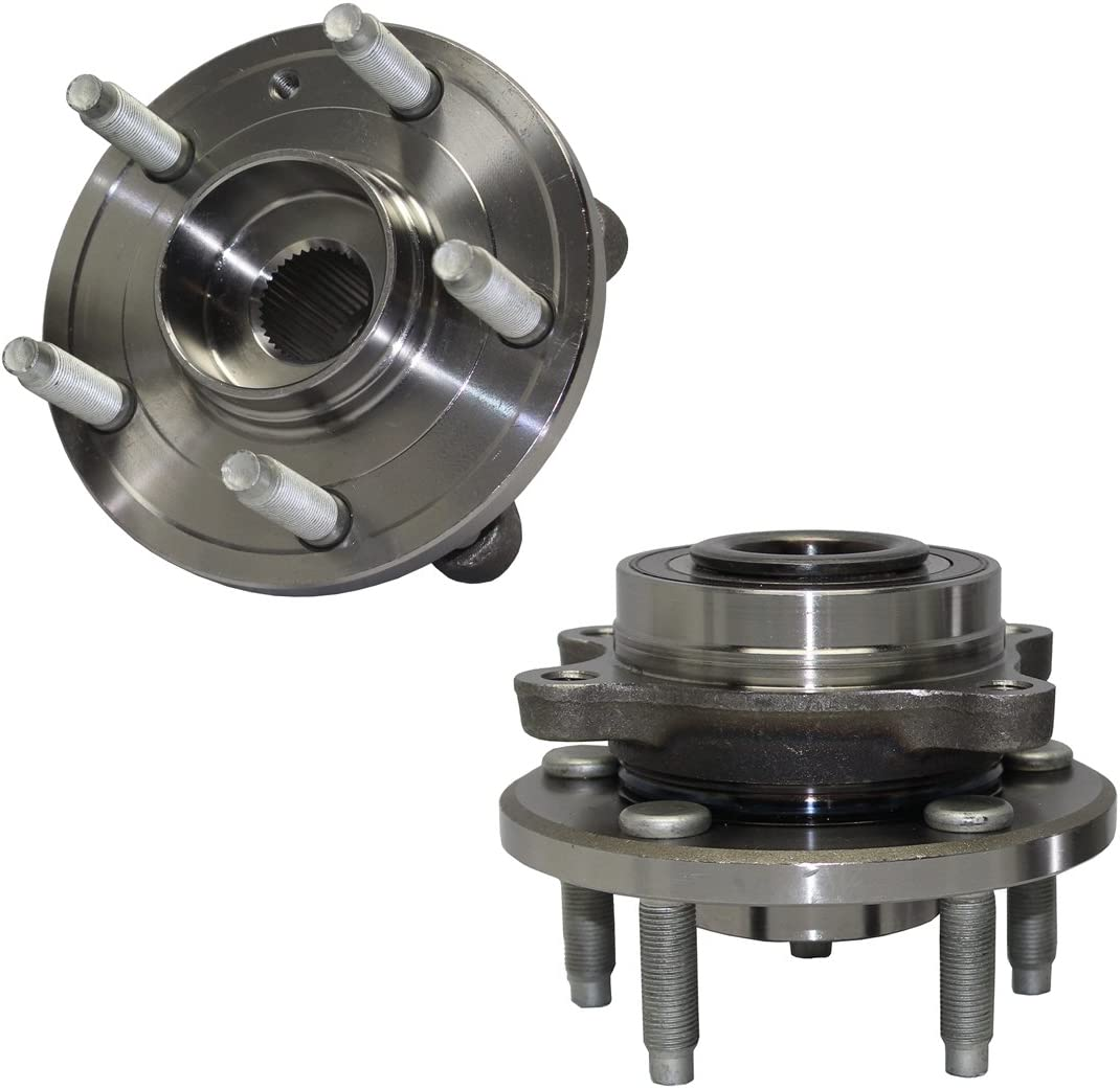 Front Wheel Hub Bearing Assembly Fit FORD FLEX TAURUS;LINCOLN MKS//MKT 09-16 PAIR