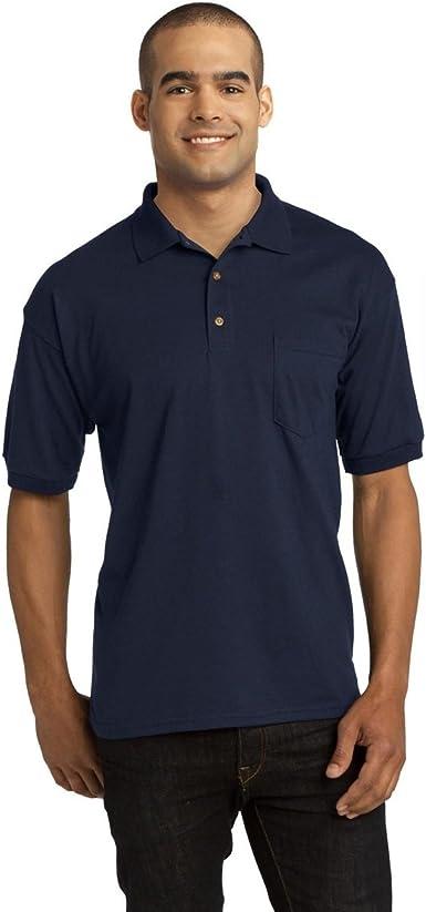Gildan Dryblend Adult Jersey Polo Shirt With Pocket