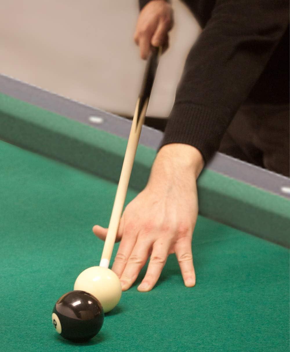 Juego de 4 tacos de billar cortos – 91,4 cm – 2 piezas de ...