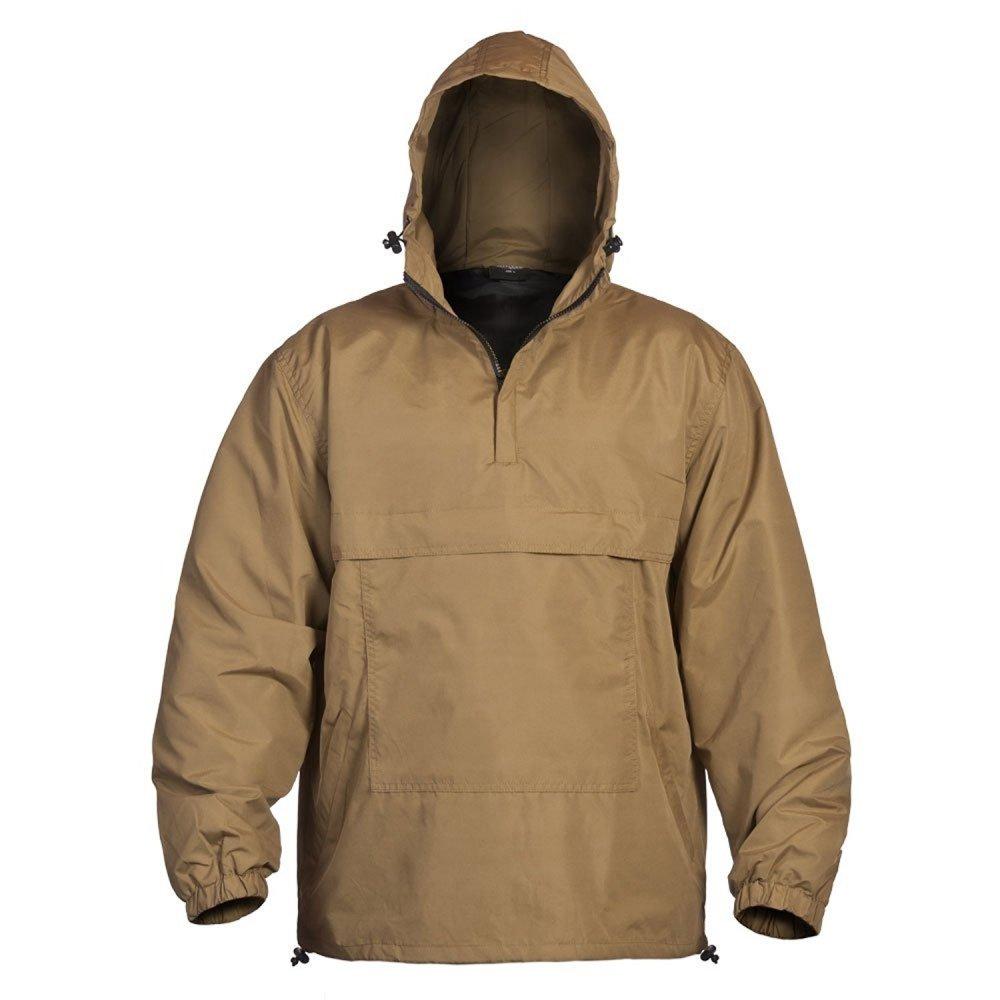 Mil-Tec Combat Summer Anorak Weather Jacket - Coyote Tan, XXX-Large