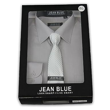 Jean Blue Mens Stylish Formal Shirts D30-D24 at Amazon Men's