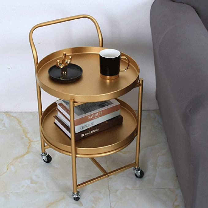 Magnificent Amazon Com Xiaoyan End Table Sofa Side Table 2 Tier Iron Andrewgaddart Wooden Chair Designs For Living Room Andrewgaddartcom