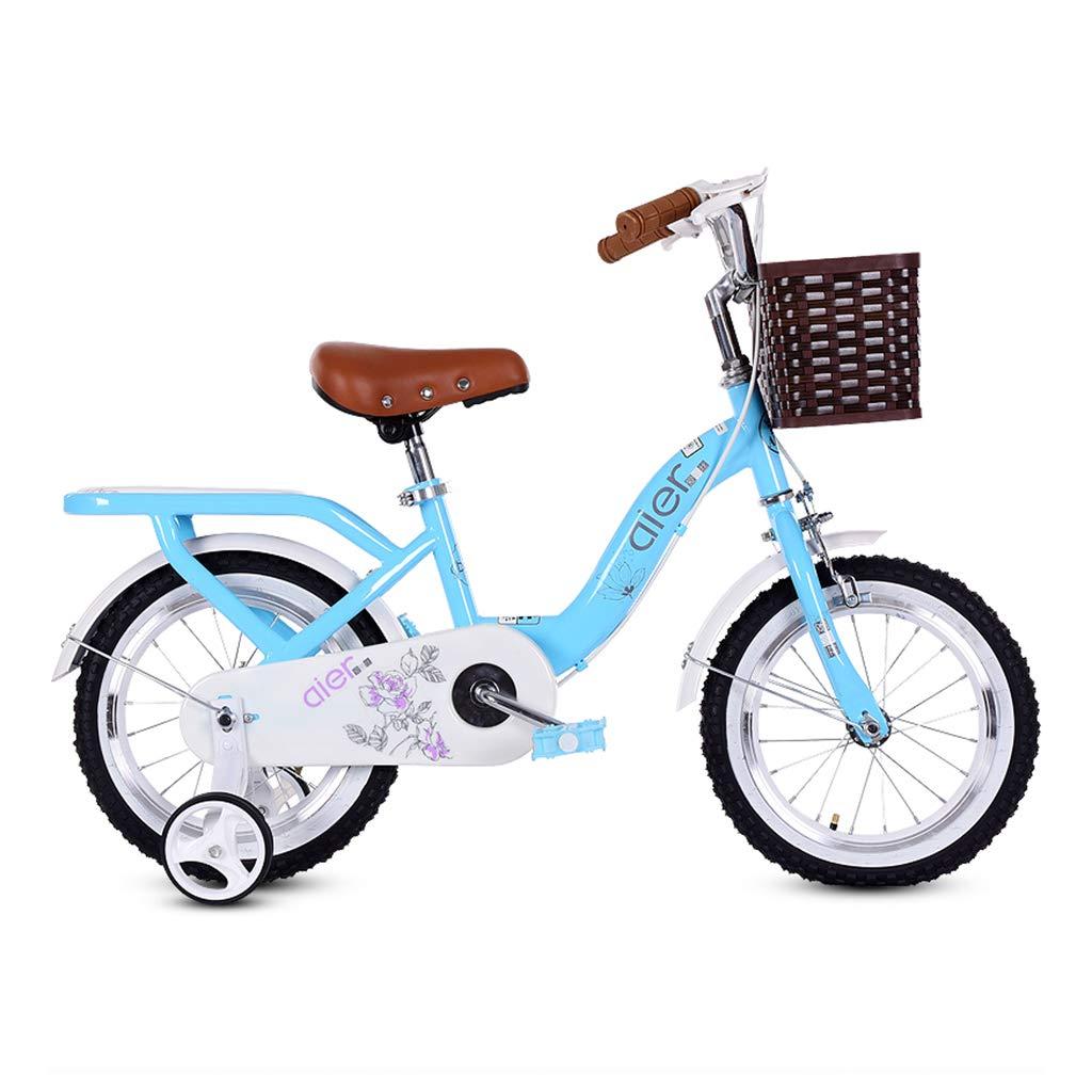 Gai Hua Home キッズ 自転車 子供用 2~10歳 ベビー ペダル 自転車 男の子 女の子 子供 赤ちゃん B07JY6CNWF  ブルー 16 inches
