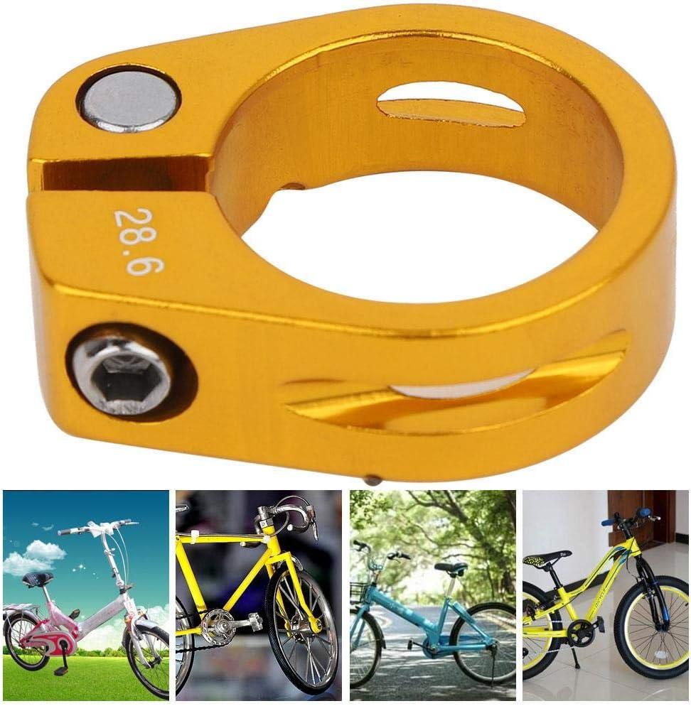 2 Piezas de aleaci/ón de Aluminio de 34,9 mm Abrazadera de tija de sill/ín de Bicicleta de liberaci/ón r/ápida Abrazadera de sill/ín de Bicicleta Keenso Abrazadera de tija de sill/ín de Bicicleta