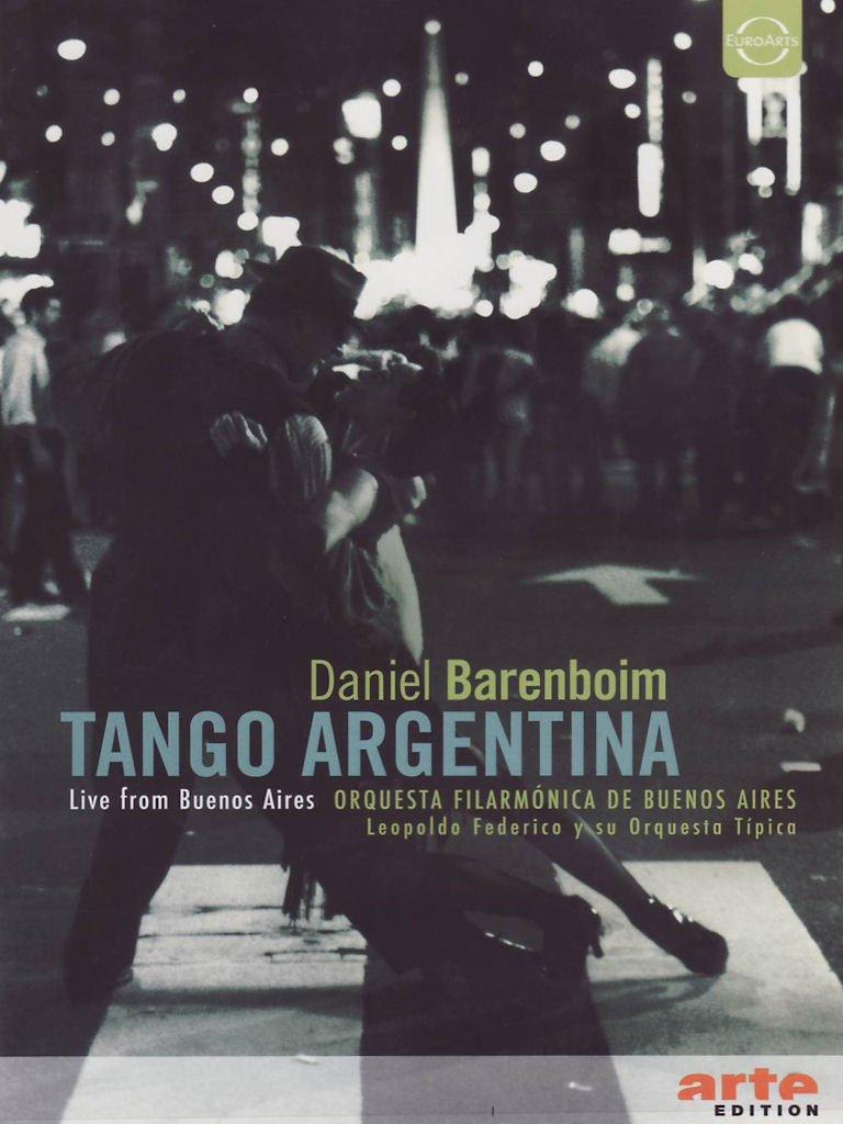 Daniel Barenboim: Tango Argentina [DVD Video]