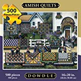 quilt puzzle - Jigsaw Puzzle - Amish Quilt 500 Pc By Dowdle Folk Art