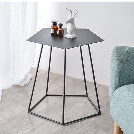 Amazon.com: ZHIRONG Mesa auxiliar de sofá estilo nórdico de ...
