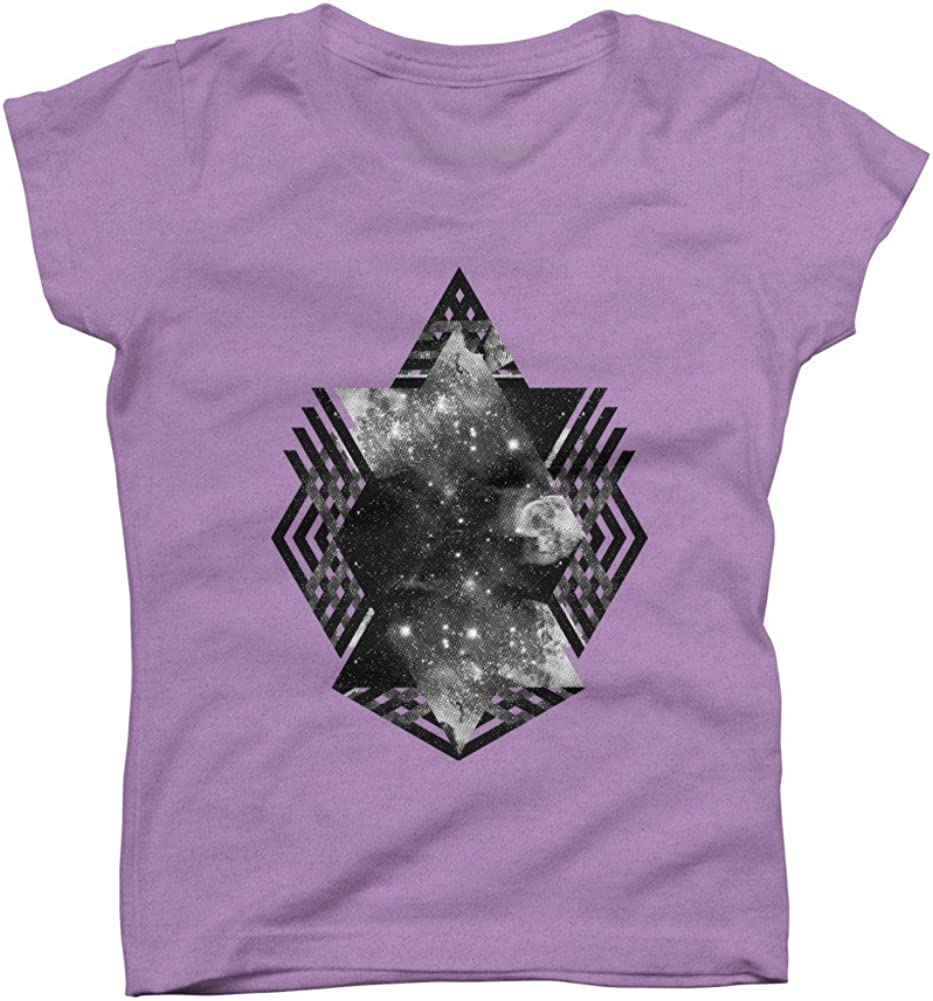 Space Travel Girls Youth Graphic T Shirt Design By Humans