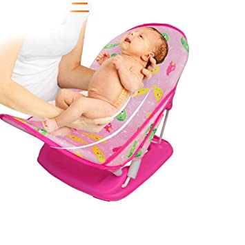 Amazon.com : Deluxe Baby Bath Tub Shower Seat Bathub Best For ...