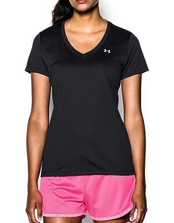 151f703fc685 Under Armour Women's Tech V-Neck Short Sleeve T-Shirt
