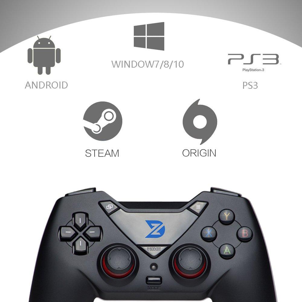 /& PlayStation 3 /& Android /& Steam Windows XP // 7//8//10 ZD-C Gaming USB con cable controlador gamepad Mando para PC