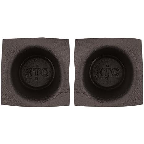 Install Bay VXT62 Speaker Baffle 6 1//2-Inch Round Large Frame Pair