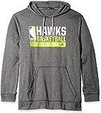 adidas NBA Atlanta Hawks Icon Status Climawarm Ultimate Hoodie, Large, Black