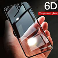 Valueactive Poco F1 Tempered Glass, 6D Full Cover Edge-Edge Full Glue Anti-Scratch Anti-Fingerprint Tempered Glass for Xiaomi Poco F1 [ Special Price for POKO - Limited Period Offer ] (Black)