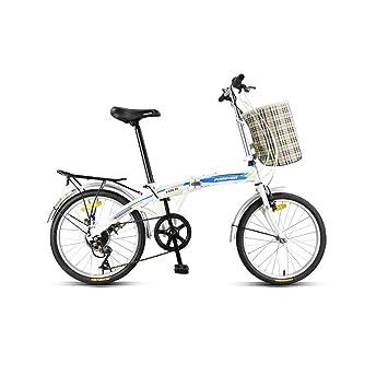 Haoyushangmao Bicicleta, bicicleta plegable, bicicleta de 7 ...
