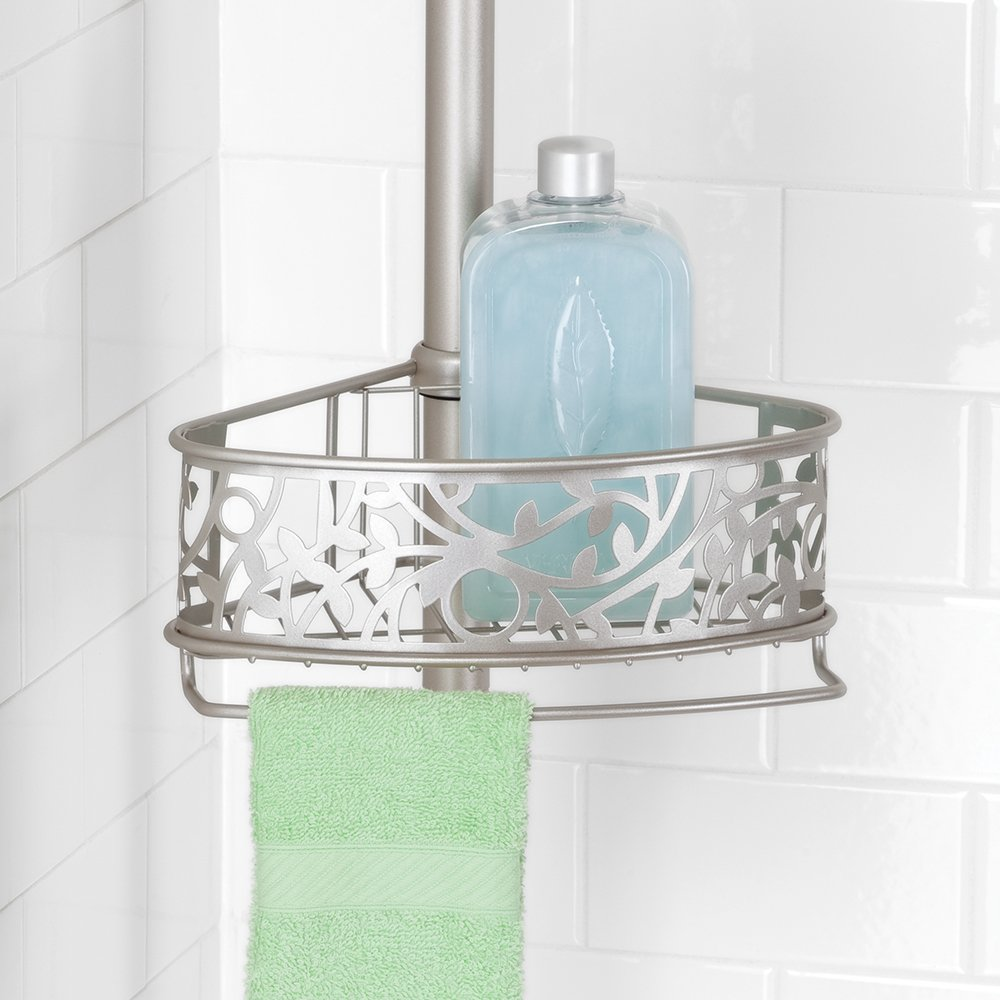 Amazon.com: InterDesign Vine Constant Tension Shower Caddy ...
