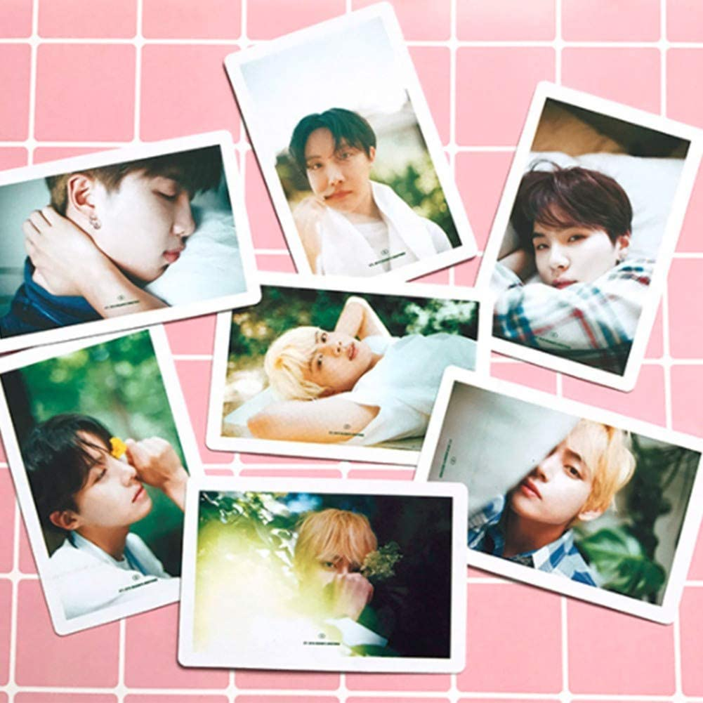 GOTH Perhk 54PCS BTS LOMO Cards Bangtan Boys Merchandise of Postcards MAP of The Soul Persona Gifts for Army Kids Style A