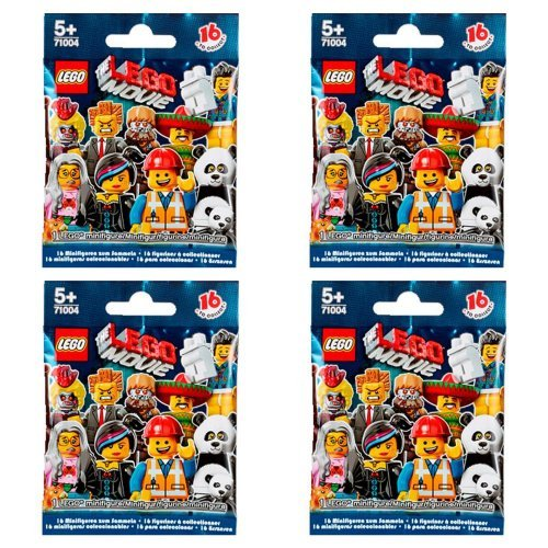 - LEGO Minifigures - The Movie Series 71004 (Four Random Packs)