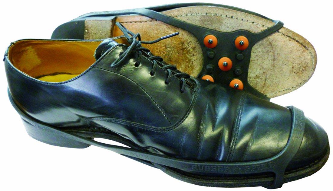 SNOW-N-GO Shoe- Ventose per la neve antiscivolo adatte a qualsiasi calzatura, colore: Nero, taglia unica