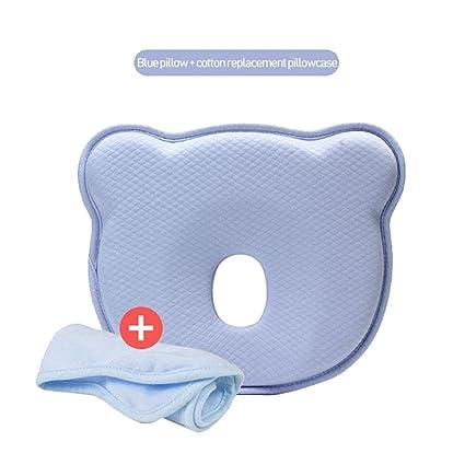 Aolvo - Almohada de espuma con efecto memoria para bebé recién ...