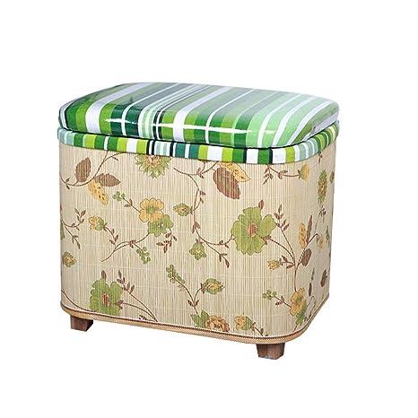 Admirable Amazon Com Candtong Hall Shoes Stool Can Sit People Bamboo Inzonedesignstudio Interior Chair Design Inzonedesignstudiocom