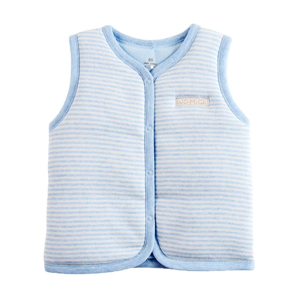Monvecle Baby Cotton Warm Vests Unisex Infant to