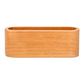 Visitenkartenhalter Aus Holz Aufbewahrungsbox Für Büro Namenskartenhalter Ständer Für Schreibtisch