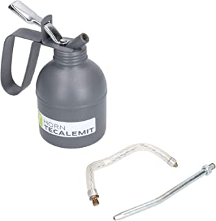 PCL Metal Pump Oil Can 300ml With Fixed & Flexible Nozzle Spout Thumb Trigger
