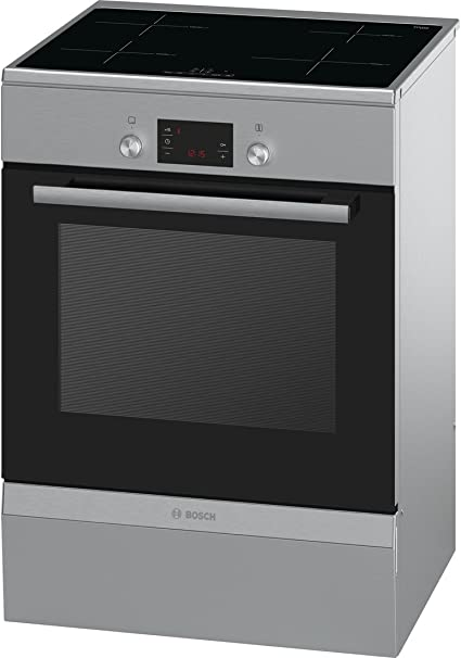 Bosch HCA748450 - Cocina (Independiente, Acero inoxidable, Eléctrico, Medio, Inducción, Convección, Convencional, Descongelar, Parrilla): Amazon.es: Grandes ...