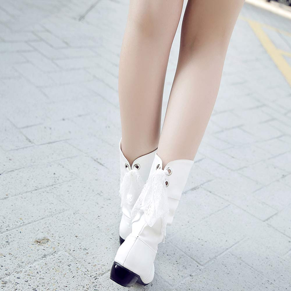 Cular Acci Female Chunky Heel Boots