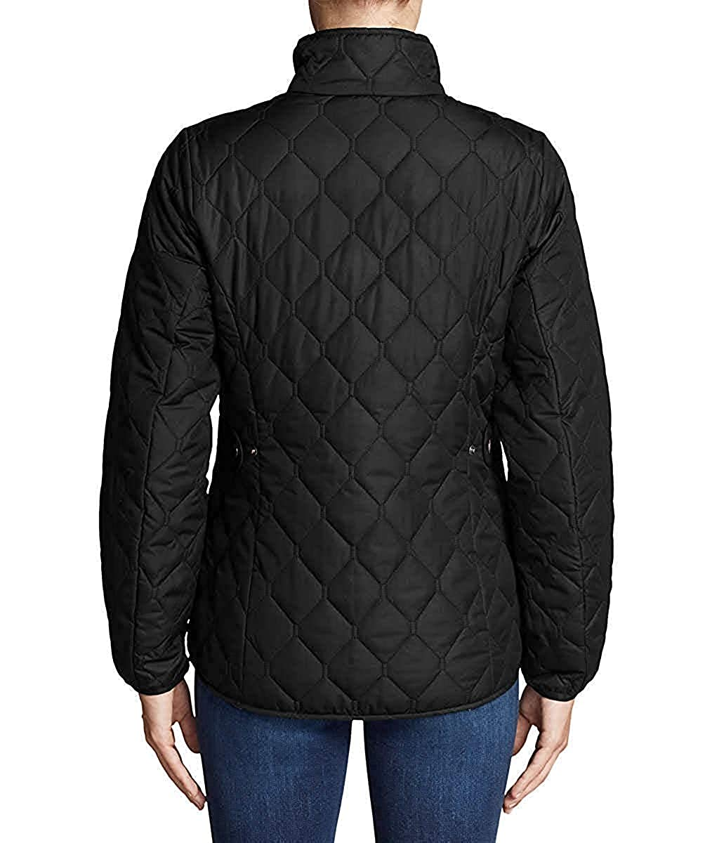 Eddie Bauer Womens Year Round Quilted Field Jacket