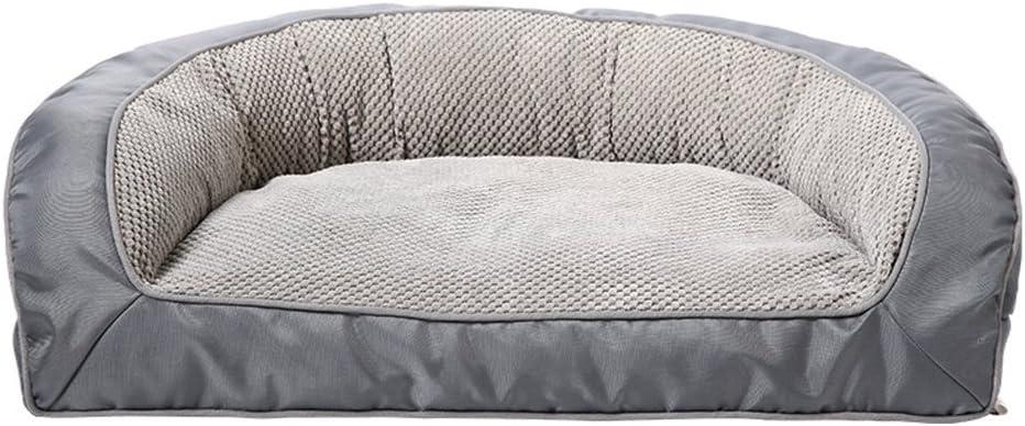 ChenXIn ペット犬のマットの巣 - 猫のための整形外科の豪華なマットレスペットベッド固体低反発ペット製品デラックスベッドソファスタイルソファベッド 自己温暖化ペットベッド