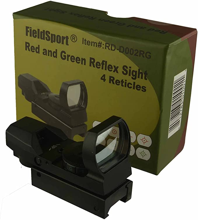 Best Reflex Sight: Field Sport Red and Green (4 Reticles)