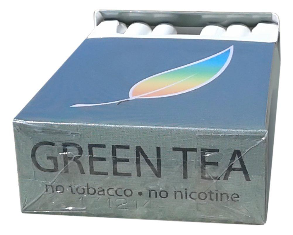 Amazon.com: AMERICAN BILLY - Green Tea Herbal Cigarettes, 4 pack ...